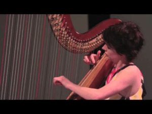 c-bassmeow:  Catrin Finch- Clair De Lune on the majestic harp. I was moved to tears. : c-bassmeow:  Catrin Finch- Clair De Lune on the majestic harp. I was moved to tears.