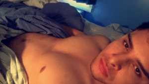 Fucking, Love, and Tumblr: c-bassmeow:  I ate a lot yesterday let me live ft. Smöll nipple   i LOVE  when he sucks my nipples while fucking me ughhh