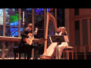 c-bassmeow: I have found my new favorite thing: harp and guitar duets. Chicago based group Strung Up duo cover Phillip Glass in this absolutely stunning performance. I've had this on repeat for a while.  Back on repeat! : c-bassmeow: I have found my new favorite thing: harp and guitar duets. Chicago based group Strung Up duo cover Phillip Glass in this absolutely stunning performance. I've had this on repeat for a while.  Back on repeat!