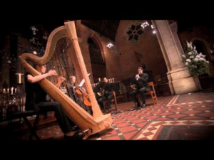 Beautiful, Tumblr, and Wow: c-bassmeow:This is so beautiful; I am literally in tears. I am so happy I stumbled upon this. The harp sounds amazing, and I cannot believe how beautiful the French horn is. I never knew they sounded so good. This piece is heavenly and no one instrument overpowers the other. Every instrument here shines. This is sublime, harmonious, musical co-existence. I feel like my heart opened up listening to this.  wow im so dramatic, but i take nothing back