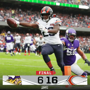 FINAL: The Monsters of the Midway stand strong at home against their division rivals!  #MNvsCHI https://t.co/SLA5VNFYk0: C  FINAL  616 FINAL: The Monsters of the Midway stand strong at home against their division rivals!  #MNvsCHI https://t.co/SLA5VNFYk0