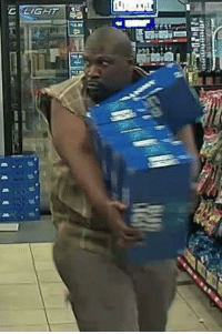 Memes, Police, and Bud Light: C LIGHT Arlington police released this photograph of a man stealing six cases of Bud light. I don't know whether to be mad or impressed