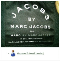 marc by marc jacobs: C O  BY  MARC JACOBS  FOR  MARC BY MARC JACOBS  1  x  Mundane Potion (Extended)