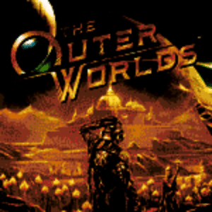 An overall 9/10 for The Outer Worlds gonna have me like…: C  UTER  WORLDS An overall 9/10 for The Outer Worlds gonna have me like…