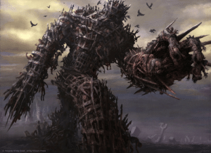 If Dark Souls did Shadow of The Colossus (by Vincent Proce): C Wizards Of the Coast Art by Vincent Proce If Dark Souls did Shadow of The Colossus (by Vincent Proce)
