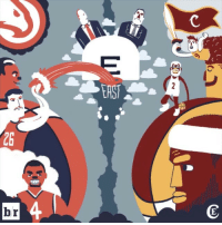 Cavs, Finals, and Sports: C  ZS  E  r  G  b Game 1 of the Eastern Conference Finals gets underway tonight! 🏀🏀🏀 Hawks Cavs