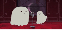 """Cute, Halloween, and Love: c0litasxo:  trappedblackrose:   everydaylouie: happy halloween! here is a ghost duet  I love this so much. I always play it when it comes on   how cute   anyways this video is incomplete without the retweet comment someone made on twitter that nearly made me shart from laughter""""Toni Braxton and Mariah Carey doing a duet"""""""