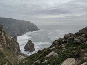 Cabo da Roca, Portugal, the most Western point in Europe.: Cabo da Roca, Portugal, the most Western point in Europe.