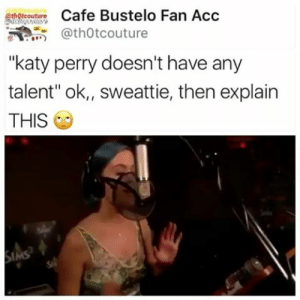 "dissemblist:  jokeboy:  Im sorry what the FUCK is this shskfinshfkeu  LAST FRIDAY NIGHT IN SIMLISH LMFAO : Cafe Bustelo Fan Acc  @thOtcouture  athOtcouture  ""katy perry doesn't have any  talent"" ok,, sweattie, then explain  THIS  IMS dissemblist:  jokeboy:  Im sorry what the FUCK is this shskfinshfkeu  LAST FRIDAY NIGHT IN SIMLISH LMFAO"
