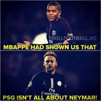 Is Mbappé the king of PSG❓ ⠀⠀⠀⠀⠀⠀⠀⠀⠀⠀⠀ (📸 TrollFootball.HD): Cag  TROLLFOOTBALL.HD  MBAPPE HAD SHOWN US THAT  Fly  PSG ISN'T ALL ABOUT NEYMAR! Is Mbappé the king of PSG❓ ⠀⠀⠀⠀⠀⠀⠀⠀⠀⠀⠀ (📸 TrollFootball.HD)