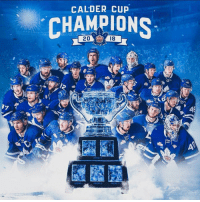 Congratulations to the Toronto Marlies on winning the Calder Cup with a game 7!: CALDER CUP  CHAMPIONS  2018 Congratulations to the Toronto Marlies on winning the Calder Cup with a game 7!