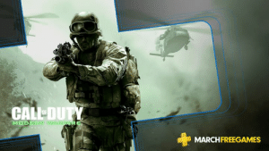 The iconic Call of Duty: Modern Warfare Remastered is free for PS Plus members this month. Download here: https://play.st/psplus: CALL DUT  N WAR  MARCHFREEGAMES The iconic Call of Duty: Modern Warfare Remastered is free for PS Plus members this month. Download here: https://play.st/psplus