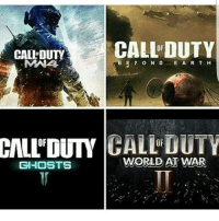 Double tap you want for cod 2017: CALL DUTY  CALI DUTY  ABE y O N D E A R T H  CALL'DUTY GHOSTS  WORLD AT WAR Double tap you want for cod 2017