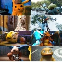 Dank, Pikachu, and 🤖: Call if seen Everyone looks so damn soft and fluffy in Detective Pikachu