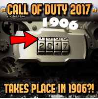 """@sledgehammergames posted this clip on Twitter and Instagram yesterday, last year we had a similar tease from Infinity Ward with a man in a spacesuit saying happy new year, and many thought this was a tease for a call of duty set in the future. This year Sledgehammer will make the Call of Duty, and they posted an old-themed video and with gears and bells in the background. The Numbers """"1906"""" does also show up🤔 First cod 2017 tease?😉- 👥tag a friend👥 ❤️5000 likes?❤️ follow🤖 ⬆️check out the link in my bio⬆️ 🔔turn on post notifications🔔 CoD BattleField1 BlackOps3 BlackOps Treyarch MWR callofduty InfiniteWarfare MWRemastered PokemonGO Zombies CallofDutyIW InfinityWard PS4 PlayStation ZombiesInSpaceland xbox XboxOne BF1 BO3 CoD4 Gamer Christmas ModernWarfare Activision ModernWarfareRemastered Pokemon Game Gaming BattleField: CALL OF DUTY 2017  GJESPERGRAN  TAKES PLACE IN 1906?! @sledgehammergames posted this clip on Twitter and Instagram yesterday, last year we had a similar tease from Infinity Ward with a man in a spacesuit saying happy new year, and many thought this was a tease for a call of duty set in the future. This year Sledgehammer will make the Call of Duty, and they posted an old-themed video and with gears and bells in the background. The Numbers """"1906"""" does also show up🤔 First cod 2017 tease?😉- 👥tag a friend👥 ❤️5000 likes?❤️ follow🤖 ⬆️check out the link in my bio⬆️ 🔔turn on post notifications🔔 CoD BattleField1 BlackOps3 BlackOps Treyarch MWR callofduty InfiniteWarfare MWRemastered PokemonGO Zombies CallofDutyIW InfinityWard PS4 PlayStation ZombiesInSpaceland xbox XboxOne BF1 BO3 CoD4 Gamer Christmas ModernWarfare Activision ModernWarfareRemastered Pokemon Game Gaming BattleField"""