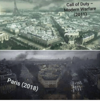 Call of Duty: Call of Duty -  Modern Warfare  (2011)  Paris (2018)