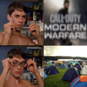In a nutshell.: CALL OUTY  MODERN  WARFARE  @PromadaGaming In a nutshell.