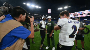 "Love, Memes, and Respect: CALLAHAY  MERS  2  TBB ""I love watching you play, man. That was pretty spectacular.""   @AaronRodgers12 took a moment to give respect to @lj_era8 🙌 https://t.co/qXn2l8xVLY"