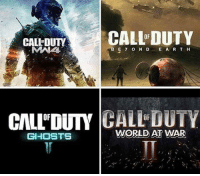 What next🤔: CALLEDUTY  CALL DUTY  ABE Y o N D E A R T H  CIALLDUTY  CALL DUTY  GHOSTS  WORLD AT WAR What next🤔