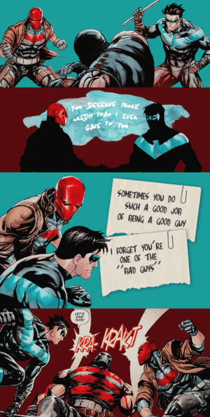 callmeredhood:  Dick Grayson and Jason Todd in RHatO Annual (2017-) #1: callmeredhood:  Dick Grayson and Jason Todd in RHatO Annual (2017-) #1