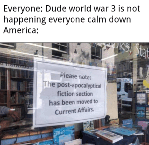 Calm down North America by purpiy MORE MEMES: Calm down North America by purpiy MORE MEMES