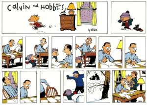 awesomacious:  Just a wholesome piece of the greatest newspaper comic to ever exist.: calvin and HobbES,A  PNP  y WATERSN awesomacious:  Just a wholesome piece of the greatest newspaper comic to ever exist.
