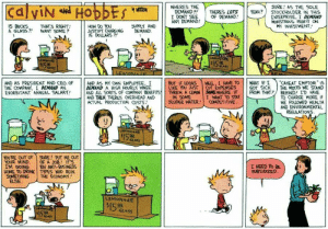 Calvin and Hobbes has aged like fine wine: Calvin and Hobbes has aged like fine wine