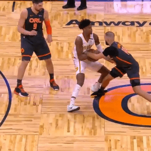 Cam just ripped the ball out of Fournier's hands!  https://t.co/yGOTN71bkn: Cam just ripped the ball out of Fournier's hands!  https://t.co/yGOTN71bkn