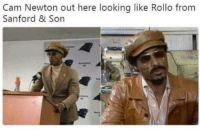Pretty Much! 😂💀 #WSHH https://t.co/ocLNYJYqWi: Cam Newton out here looking like Rollo from  Sanford & Son Pretty Much! 😂💀 #WSHH https://t.co/ocLNYJYqWi