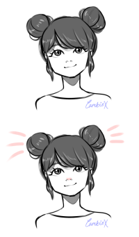 Love, Target, and Tumblr: cambiex:  Marinette with buns has me SHOOK also I am SO ready for Mousinette. I love her so much.