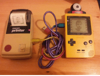 Selfie, Target, and Tumblr: camera  GAME BOY  printer  SELECT START nicktonormal: takin a selfie was fuckin complicated back in the day