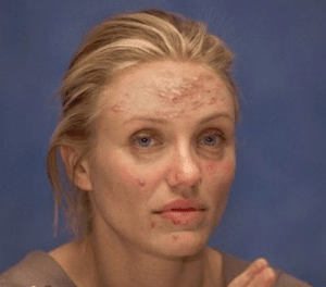 Makeup, Cameron Diaz, and Cameron: Cameron Diaz without makeup.