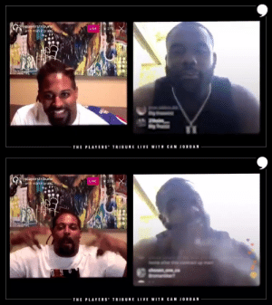 .@camjordan94 was joined by good friend and former @saints teammate @markingram21 this week on Cam's Corner. The @ravens running back shares his BIG goals for his team next season. #BigTruss  📺: https://t.co/TUIZSYPMhS https://t.co/gFgdqTDWX1: .@camjordan94 was joined by good friend and former @saints teammate @markingram21 this week on Cam's Corner. The @ravens running back shares his BIG goals for his team next season. #BigTruss  📺: https://t.co/TUIZSYPMhS https://t.co/gFgdqTDWX1