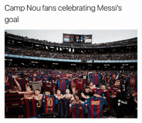 Some Celebration 😂😂 🔺FREE LIVE FOOTBALL -> LINK IN OUR BIO!!!: Camp Nou fans celebrating Messi's  goal  DIOS  TO Some Celebration 😂😂 🔺FREE LIVE FOOTBALL -> LINK IN OUR BIO!!!