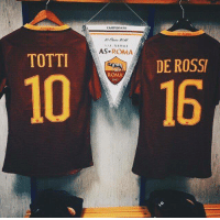 Gladiator, Soccer, and The Game: CAMPIONATO  AS ROMA  s SC NAPOLI  AS  ROMA  TOTTI  DE ROSSI  ROMA  10 16 39 years combined at Roma. Two gladiators of the game.