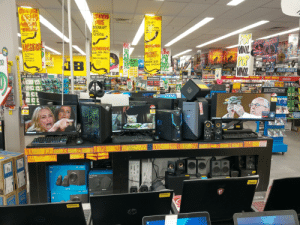 Walked into JB Hi-Fi today to be greeted by this XD: CAMPUTER  EVEOUNS  NTWANOV  USB WIFT  MICE  MICROSOFT  DELL  GATECHI  WACAM  TABUETS  APAPTORS  GiBGWITCH  RANGE EXTENDERG  ROUTLRS  UNIVERSAL LAPIOP  CHARGERS  POP  VINIL  POP  WINIL  FORGE A  TO GREA  CHOOV eTA  CAROOVE  LACSION  MNCE  PALY  &T ANTIO  DEAMCS  NCTWORKING  WiHlE HomE MESH  EPIC  GIFT  IDEA  PORTABLE  DESKIOP  -KEYBOADE  MICE  WEBCAMG  HEADBETS  MATERNET  CECURITY Y  LIONKING  LION KING  1o NO  ONVNY  MODEM ROUTERS  OR  OEHON COMA O POKE  LABLE  TREND MICRO  NORTON  ST EST  MEN X  DLINK  NexGEAR  GOOGLE  1P LINK  2RE-ORDER  GAMES  HERE!  B  S NO  MICROSOFT OFFICE  TRONEL ADAPTORG  NENEW ALBUM  ATS2 MAN  OUT APRIL 2  NTS  ONVINYL  KREST  DORY  ONLURAY&DD NOVEMBLR  WINA CHANCE IN STORE TO SEE PINK  LIVE JN-NEW YORK  BLU RAY BLU RAY B  TV SHOWS TV SHOWS TV  D NOVEMER 13  ON NU A  NEW  RELEASE RESTUT ENRELEASE  H  K  BLU  CND A  LY WIS NAY  BEST SELLERS ORIES EN  Cloth  Sn  iech  N1OUR  STeaIG  SORIE BEST SELLERS  Ootect  ALLECIANT  SUPERHERDE  SUPERHEROES  ELLERS  A-Z MOVEES  A-Z  NINDA  BEST S  ACCESSORIES  CHART  E RELEASE  BEST SELLER  MOVES  ON  STRATECY FOR  GAME  DAY  ATENTARLE  Nintendo  MASIC  ORDER  orL  BOT DRTCES  LEGEFT  TT  w  XBOXONE  TCES  THUDD  ది  TM MMATLES  DEATH  CTYA IOP UPS AT JR  STAR WARE  JEDI FALLEN ORDER  EPIC  GFT  ENERGY  RATING  SMSONG  SEPVCED  TO CLEAR  ENERGY  RATING  ENERGY  RATING  KALL  82  TEDI  11.9  w ng the savings  ing all Cyer Wac long  PREORDER  INSTORE  OR ONLIN  TODAY  DOLL  23  eYeER  JEDI  ALIENWARE  TEDI  PLUS  COSMETIC CONTE  ALIENWARE  DH E  ED  TEDI  NTE  HPW ALIEN  WARE  1222  EATINE  RLOGeCH GS2  CREATIVE  AMD YEN 7  4:7-97006  4% 68 an  FULL HD 920 1040  948 RAM  359  aseRIES  STEELSERIES  ese  -TN PANEL  CCTRES  240HZ REFRESH  FLY ADUSAGLE, ME M,  4 A  CApeoN Sto  omlle  o  NSLLAS  tednne  CoaSheke  34  LOGITECH  Z150  LOGETTEOM  29  HEADEA e  1 e ols Sces  HAYGAMING CHAIR  LOGHTECH  189  LOUTTEC  X  Z623  EX 400W  JL  legitech  lech  logitech  l
