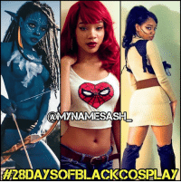 Memes, Avatar, and Pandora: CAMYNAMESASH  A28DAysOFBLACKCOSPLAY My tenth 28daysofblackcosplay feature goes to the stunning @mynamesash_! 🙌🏾 This girl must've opened a Pandora's Box of talent because her Avatar cosplay is on another level. Cinematic quality without any CG or JamesCameron?! 😱😂 Be sure to check out her page and give her a follow! 👉🏾@mynamesash_ -- Also be sure to follow @cosplayofcolor for daily cosplay photography that emphasizes diversity and representation. 👌🏾