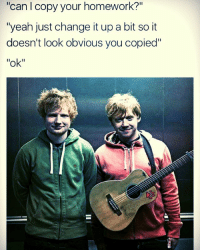 """`s new post! -.-*-.- Hey gusy! Ok, so don`t ask me why I am posting this, I just love the idea ))) And obviously, Eh Sheeran looks like Rupert haha XD So, I hope you`ll like this post because I found it and I thought you might like it as so. ... 