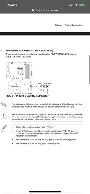 Can i daisy chain 6 thermaltake pure 12 argb fans and the thermaltake waterblock, and connect it to my one argb header on my motherboard?(this is the manual)[60leds in total]: Can i daisy chain 6 thermaltake pure 12 argb fans and the thermaltake waterblock, and connect it to my one argb header on my motherboard?(this is the manual)[60leds in total]
