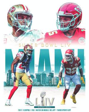 Can it be Super Bowl Sunday already? 🏈 #WeReady  📺: #SBLIV | Sunday 6:30pm ET on FOX 📱: NFL app // Yahoo Sports app https://t.co/OU1L7nHxH9: Can it be Super Bowl Sunday already? 🏈 #WeReady  📺: #SBLIV | Sunday 6:30pm ET on FOX 📱: NFL app // Yahoo Sports app https://t.co/OU1L7nHxH9