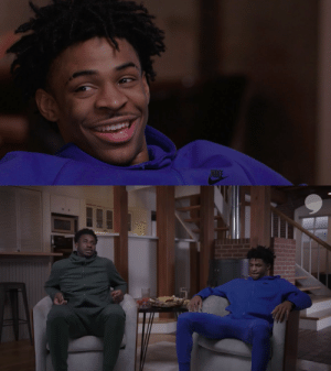 Can @jarenjacksonjr hang with @lilbaby4PF's rap game?  Only @JaMorant knows 👀 Stay tuned for more on @PlayersTribune.  In partnership with @EatLiquidGold and @ro_tel. https://t.co/na1TSHYDSE: Can @jarenjacksonjr hang with @lilbaby4PF's rap game?  Only @JaMorant knows 👀 Stay tuned for more on @PlayersTribune.  In partnership with @EatLiquidGold and @ro_tel. https://t.co/na1TSHYDSE