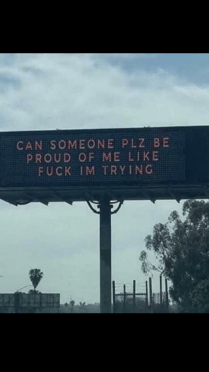 me_irl: CAN SOMEONE PLZ BE  PROUD OF ME LIKE  FUCK IM TRYING me_irl