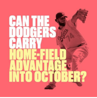 Dodgers, Sports, and Home: CAN THE  DODGERS  CARRY  HOME-FIELD  ADVANTAGE  INTO OCTOBER? Dodger Stadium has been 'Home Sweet Home' for the Dodgers this season (➡️ @quickenloans)