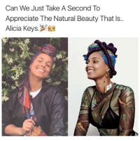 On a real though, big up @aliciakeys what you are doing with your public no make up lifestyle, is a great message for all the sisters out there. It's amazing to speak to young women and hear them say they aren't wearing toxic make up that makes some men rich... because of you. Blessed. Much respect. @therealswizzz: Can We Just Take A Second To  Appreciate The Natural Beauty That ls..  Alicia Keys On a real though, big up @aliciakeys what you are doing with your public no make up lifestyle, is a great message for all the sisters out there. It's amazing to speak to young women and hear them say they aren't wearing toxic make up that makes some men rich... because of you. Blessed. Much respect. @therealswizzz