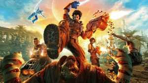 Can we please get a sequel to Bulletstorm? I know it will probably never happen since it isn't the most popular but man we need some more goofy over the top FPS games again. The mechanics in it are so fun and an updated sequel that expands on the characters and gameplay would make my heart so full.: Can we please get a sequel to Bulletstorm? I know it will probably never happen since it isn't the most popular but man we need some more goofy over the top FPS games again. The mechanics in it are so fun and an updated sequel that expands on the characters and gameplay would make my heart so full.