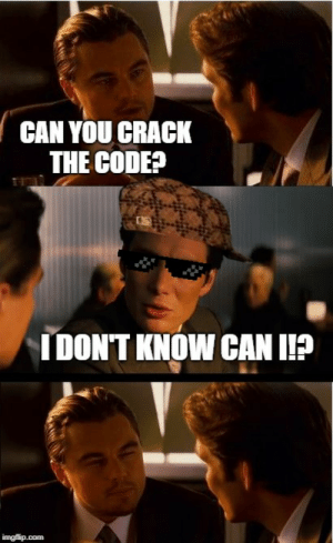 pixel glasses memes Memes & GIFs - Imgflip: CAN YOU CRACK  THE CODE?  IDONT KNOW CAN I?  imgflip.com pixel glasses memes Memes & GIFs - Imgflip