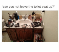 """Memes, 🤖, and Can: """"can you not leave the toilet seat up?"""""""