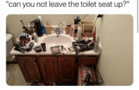 """Dank, 🤖, and Can: """"can you not leave the toilet seat up?"""""""