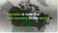 congrats canada: Canada is now the  2nd country in the  world congrats canada