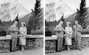 Canada removed King George VI from this photo to make their Prime Minister seem more powerful: Canada removed King George VI from this photo to make their Prime Minister seem more powerful